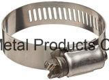 中国の在庫のAmerican-Typeステンレス鋼のホース留め金(8mmおよび12.7mm)