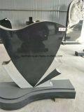 Headstone/pietra tombale/monumento neri dello Shanxi del granito nero