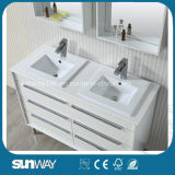 2016 ultimo Furniture francese Bathroom Cabinet con Double Sink