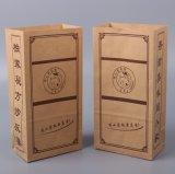 Brown Kraft Quitarle Bolsa Bolsa de papel para cafés paquete de café