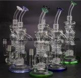 Multi-Raum KLEKS Prex Perc Handblown rauchendes Wasser-Glasrohr