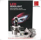 Lumière de véhicule de DEL du phare de DEL 6000k H1 avec le ventilateur