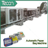 Sacco di carta del tubero automatico di controllo che fa macchina