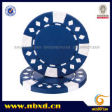 11.5g 2-Tone Diamond Suited ABS Poker Chip