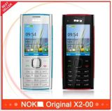 Original Unlocked X2 Original Nokya X2-00 Bluetooth FM Java 5MP Cell Phone
