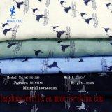 100%algodão tecido impresso para crianças camisola roupas