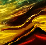 Handgemaltes 3D Effect Metal Wall Art für Home Decor (CHB6015023)
