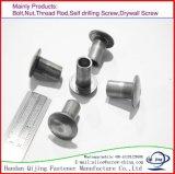 標準外金属は平らなヘッドスプラインボディブラインドのナットのリベッターのブラインドのリベット/鈍いリベット/アルミニウムリベットをリベットで留める