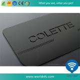 Kundenspezifische rostfreie Metallnamen-Visitenkarte für Mitgliedschafts-Management