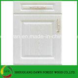 Hohe glatte Farbe fertige MDF-Vorstand Belüftung-Küche-Schranktüren