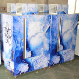 Auto-Descongelar el rectángulo empaquetado DC-420 del almacenaje del hielo para el uso al aire libre