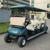 6 Seat Electric Hotel Golf Vehicle com Certificado Ce Dg-C6