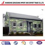塗られたカムフラージュの表面カラーは軍の家で使用された鋼鉄コイルPPGIに電流を通した