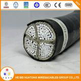 Laag Voltage 4 de Kabel van de Macht van het Aluminium van de Kern met Vermeld Ce