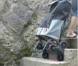 6 عجلة قابل للانهيار يتيح تخزين [وتر رسستنت] يد تسوق حامل متحرّك
