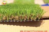 정원 훈장을%s 비 채우는 인공적인 잔디