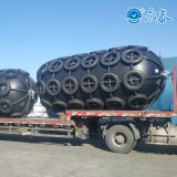 Mundo maior 4,5 m de diâmetro Yokohama Para-lama de borracha pneumático