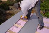 이전 구리 입상 솔기 지붕 롤