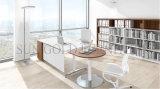 Стол офиса самомоднейшего возникновения Polished с таблицей стороны полуокружности (SZ-OD603)