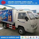 2018 Nuevo diseño de Mini camiones refrigerados 3toneladas Venta Directa de Fábrica de camiones de transporte de verduras frescas Foton congelador camiones refrigerados