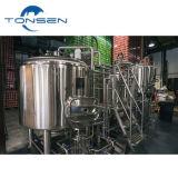 2容器200LはMicrobreweryシステム、ビールプラントマイクロ醸造装置ビールBrewhouse装置を完了する