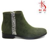 2017 de Sexy Laarzen van de Vrouwen van de Schoenen van de heet-verkoop met de Decoratie van Lovertjes (AB637)