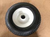 Rueda de goma neumática de la calidad estupenda con el borde del metal