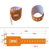 Qualitätpasste kundenspezifische intelligente Wristband-Band-Chip-Großhandelsfarbe an