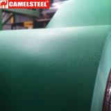 Tôle d'acier Chequered de Matt PPGI/PPGL de ride dans le prix de bobine par tonne