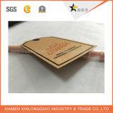 Étiquette faite sur commande de coup de vêtement de vêtement d'étiquettes de métier d'impression de papier d'étiquette
