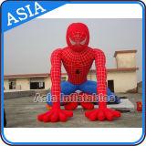 Модель человек-паука профессионального изготовления раздувная/шарж горячего сбывания раздувной