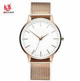 Ontwerp Watches#V842 van de Douane van het Horloge van de Luxe van de Zakenman van het Polshorloge van de Mensen van het Horloge van de Riem van het Netwerk van de Mensen van Promotonal het Mechanische Automatische
