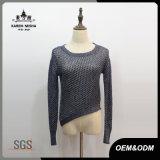 Madame Casual Classic Designed Sweater avec le bord asymétrique
