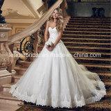 Schatz-Spitze-Brautballkleid-geschwollenes Tulle-nach Maß Hochzeits-Kleid G1789
