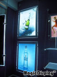 La publicidad de cristal colgantes Caja de luz