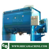 300-5000kg tipo horizontal grande mezclador plástico del color