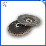 酸化アルミニウムまたは炭化ケイ素またはジルコニアの研摩の折り返しディスク