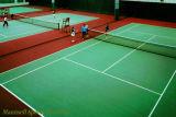 Campo de Ténis profissional usado - Pavimentos desportivos de vinil de plástico de PVC