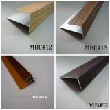 Nez de forme 12mm et 15mm en bois peint et en bois PVC