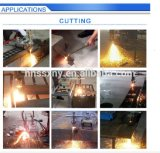 Il acciaio al carbonio professionale di Hho che taglia la fascia per il taglio di metalli di 50mm ha veduto