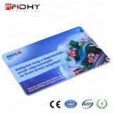 Impressão personalizada MIFARE (R) 4K RFID Cartão de Freqüência Dupla