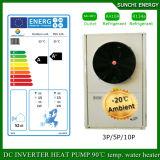 Ruuning alla Camera fredda 12kw/19kw/35kw del tester del riscaldamento di pavimento di inverno di -25c 100~350sq Automatico-Disgela la pompa termica di Evi del regolatore dell'affissione a cristalli liquidi di Digitahi