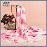 Form-Silk Schal-Schal-Blumen-Schale der Frauen