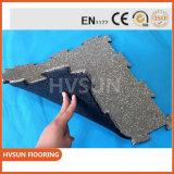 Adaptarse a todas las clases de material para techos de goma de la azotea del edificio a prueba de choques para el centro de aptitud