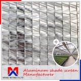Энергосберегающая 57%~75% внешняя алюминиевая ткань тени для парника