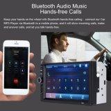 Lecteur vidéo de voiture avec écran 7 pouces de radio FM de Bluetooth