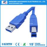 Mejor precio de fábrica de la impresora escáner USB 3.0 Am / cable Bm