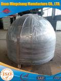 Kohlenstoffstahl-Edelstahl-Rohr-Schutzkappen-passende Teller-Enden-Kontaktbuchse-hemisphärischer Kopf