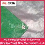 Resistente de alta qualidade Prata verde 2mx4m Poli Tarp