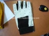 半分指の手袋競争の手袋自転車は手袋革手袋を手袋働かせる